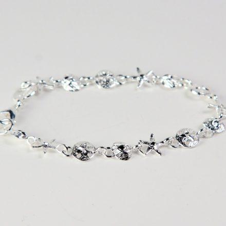 Silver Sealife Bracelet